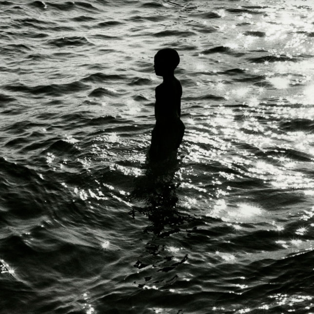 Boy in Water, Terry Boddie. c/o Artists (Artists: Terry Boddie, Shakia Lewis,Cesar Melgar) & Paul Robeson Galleries