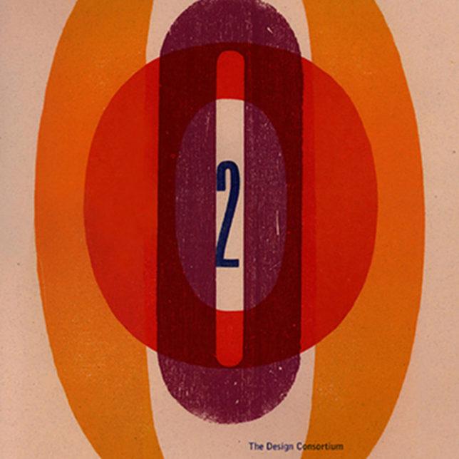 Design Consortium Letterpressed Millennium calendar