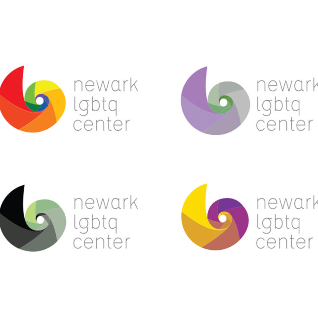 A new brand identity for the Newark LGBT Community Center. The system of color variations address the great expansion of the LGBTQ community which now includes a wider spectrum. Fall 2017. c/o Design Consortium