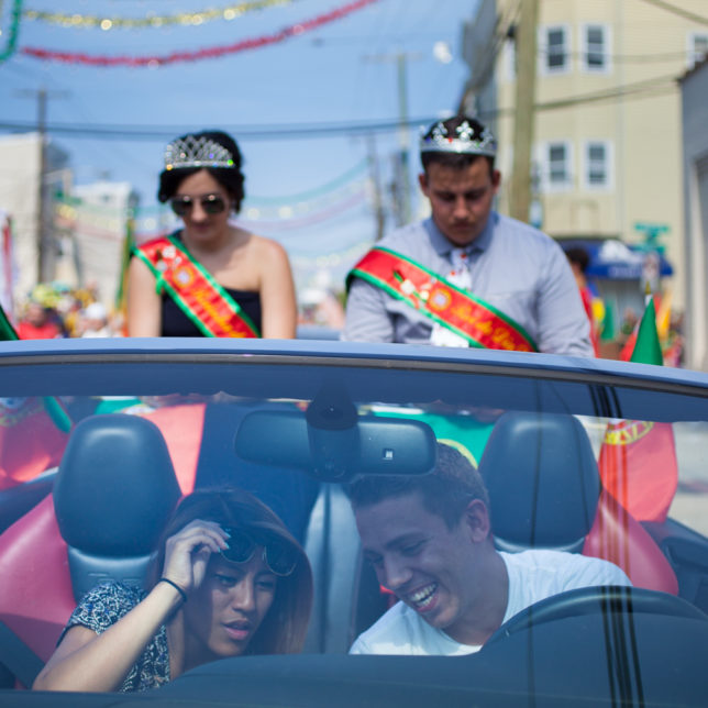 """Participants at the Annual Portuguese Day Festival, or """"Dia de Portugal."""". c/o Ashley Gilbertson"""