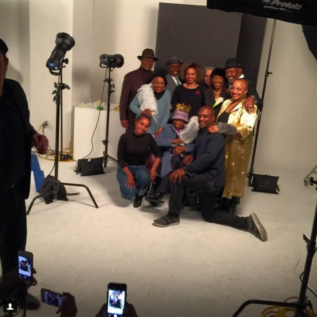 Behind the scenes group picture. c/o Shine Portrait Studio