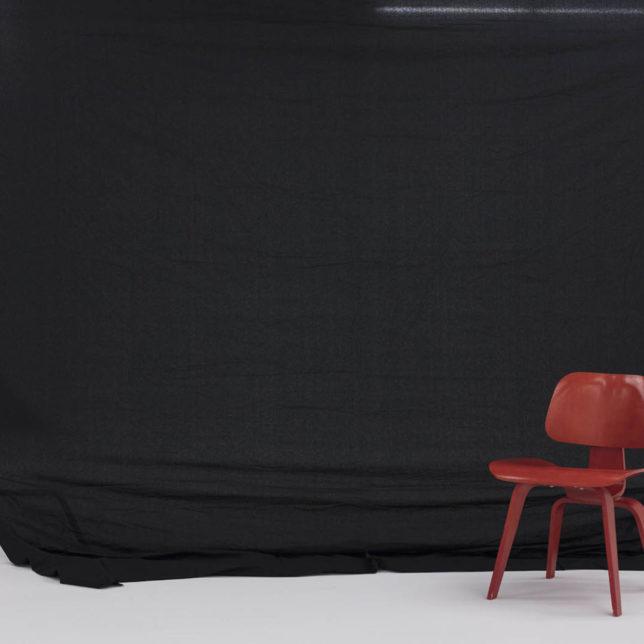 Muslin, Black, 10'x12'. c/o Shine Portrait Studio