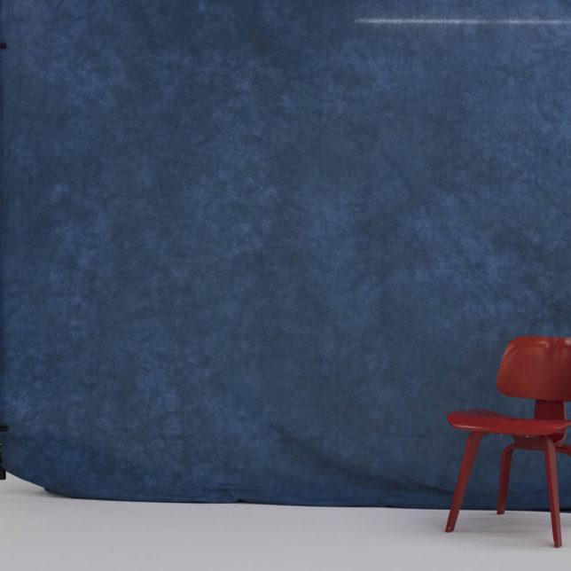 Muslin, Blue, 10'x12'. c/o Shine Portrait Studio