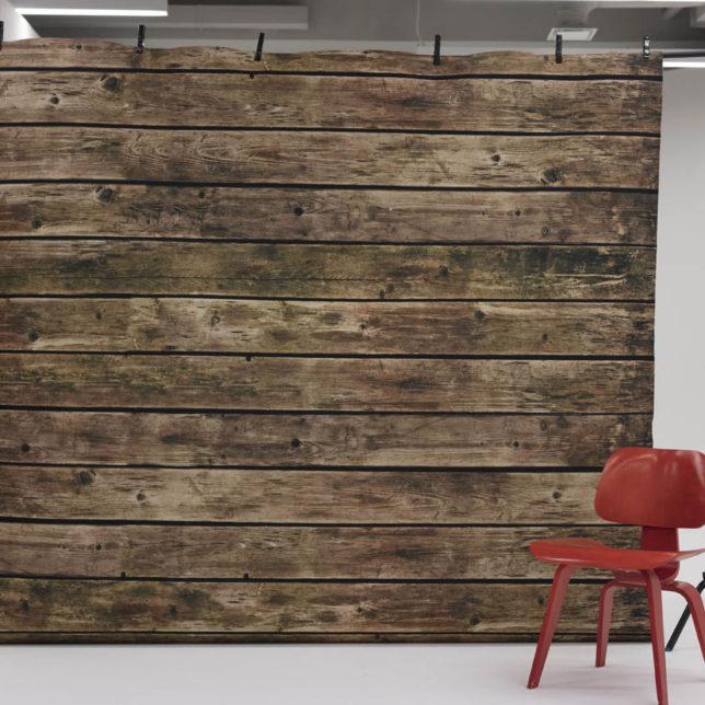 Savage Floor Drop, Wood Plank, 8'x8'. c/o Shine Portrait Studio
