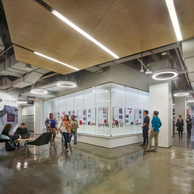 Express Newark Design 3rd floor lobby by Halkin Mason Photography, c/o KSS Architects.