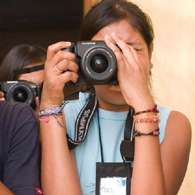 Twenty Young Photographers take part in National Geographic photo camp. c/o Newest Americans