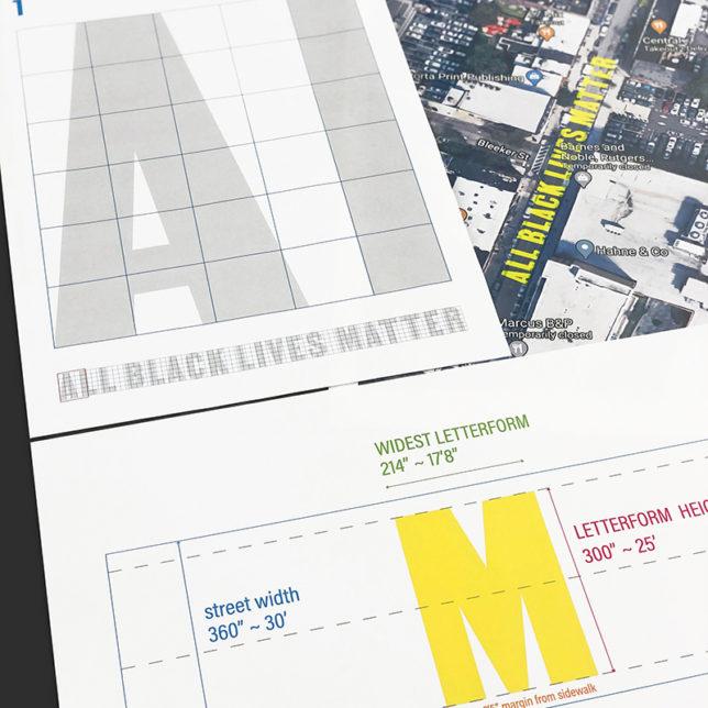 Mural Typography & Implementation Kit. c/o Chantal Fischzang